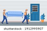 delivery and relocation service ... | Shutterstock . vector #1912995907