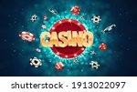 gambling casino online leisure... | Shutterstock .eps vector #1913022097