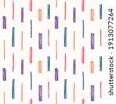 brush strokes  smears seamless... | Shutterstock .eps vector #1913077264