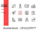 renaissance   modern line...   Shutterstock .eps vector #1913129977