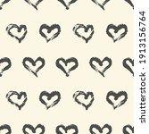 seamless heart pattern hand... | Shutterstock .eps vector #1913156764