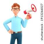 3d illustration of cartoon... | Shutterstock . vector #1913266027