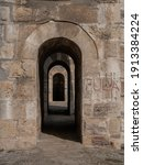 Historical Aqueduct. Istanbul...
