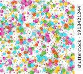 colored carnaval confetti... | Shutterstock . vector #1913421244