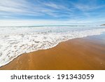 Beach At Sandymouth Near Bude...