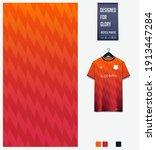fabric pattern design.... | Shutterstock .eps vector #1913447284