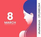 international women's day... | Shutterstock .eps vector #1913481364