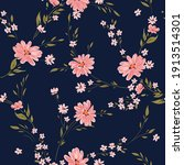 seamless spring floral pattern... | Shutterstock .eps vector #1913514301