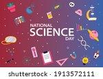 national science day  design... | Shutterstock .eps vector #1913572111
