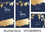 collection labels for wine.... | Shutterstock .eps vector #1913608441