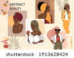 collection of portraits of...   Shutterstock .eps vector #1913628424