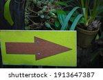 Blank Wooden Directional Arrow...