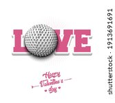 happy valentines day. love and... | Shutterstock .eps vector #1913691691