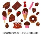 carton style vector  set of... | Shutterstock .eps vector #1913788381