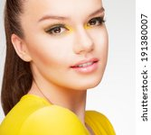 yellow beauty | Shutterstock . vector #191380007
