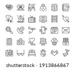 love icons vector illustration  ... | Shutterstock .eps vector #1913866867