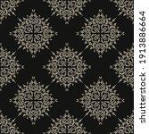 vector seamless texture gothic. ... | Shutterstock .eps vector #1913886664