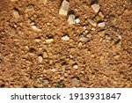 wet ground  yellow soil and... | Shutterstock . vector #1913931847