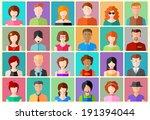 illustration of flat design...   Shutterstock .eps vector #191394044
