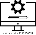 computer update system icon...   Shutterstock .eps vector #1913950354