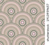 african circle elements carpet... | Shutterstock .eps vector #1913959657