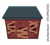 party creepy house icon.... | Shutterstock .eps vector #1913962531