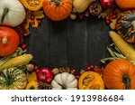 Autumn Flat Lay Composition ...