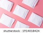 Pattern of sanitary pad ...