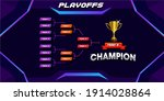 modern sport game tournament...   Shutterstock .eps vector #1914028864