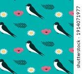 Swallow  Wildflowers  Poppy ...