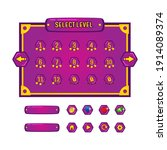 level selection and button game ...