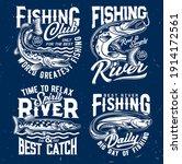 river fishing catch t shirt... | Shutterstock .eps vector #1914172561