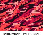 seamless pattern with abstract... | Shutterstock .eps vector #1914178321
