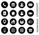web icon set vector sign symbol ... | Shutterstock .eps vector #1914332497