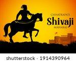 illustration of chhatrapati... | Shutterstock .eps vector #1914390964