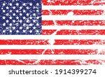 usa flag in grunge style ....   Shutterstock .eps vector #1914399274