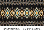 geometric ethnic oriental ikat...   Shutterstock .eps vector #1914412291