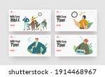 long wait landing page template ... | Shutterstock .eps vector #1914468967