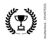 winner trophy icon vector ... | Shutterstock .eps vector #1914475231
