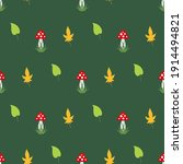 Seamless Pattern With Cozy...