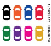 Colorful Simple Car Icon From...