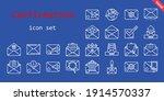 confirmation icon set. line...