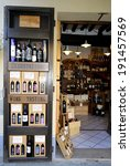 typical enoteca  wine cellar ... | Shutterstock . vector #191457569