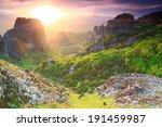 Tall Rocks And Monasteries Of...