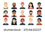 avatar portraits. business... | Shutterstock .eps vector #1914610237