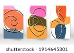 set of geometric shapes....   Shutterstock .eps vector #1914645301