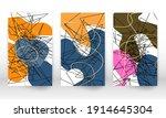 scribble design. modern...   Shutterstock .eps vector #1914645304
