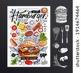 food poster  fast food ...   Shutterstock .eps vector #1914674464