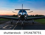 Single Turboprop Aircraft On...