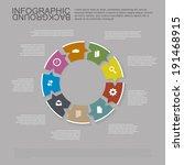infographic concept   speech...   Shutterstock .eps vector #191468915